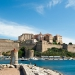 The Citadel of Calvi on the island of Corsica,France