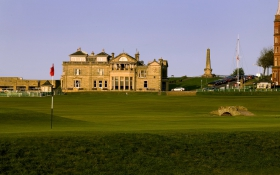 OLD COURSE, ST ANDREWS: FIFE, SCOTLAND