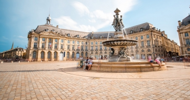 La Bourse in Bordeaux, France