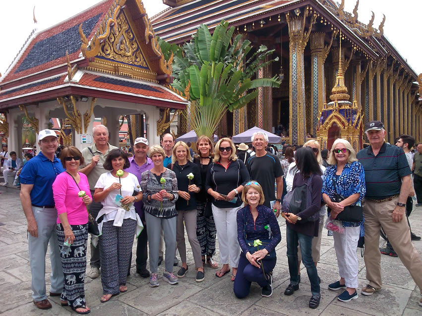 <h2>Thailand, Cambodia & Vietnam Escorted 2018</h2>14 Nights from Thailand to Cambodia & Vietnam | 8 Rounds | January 30 - February 13