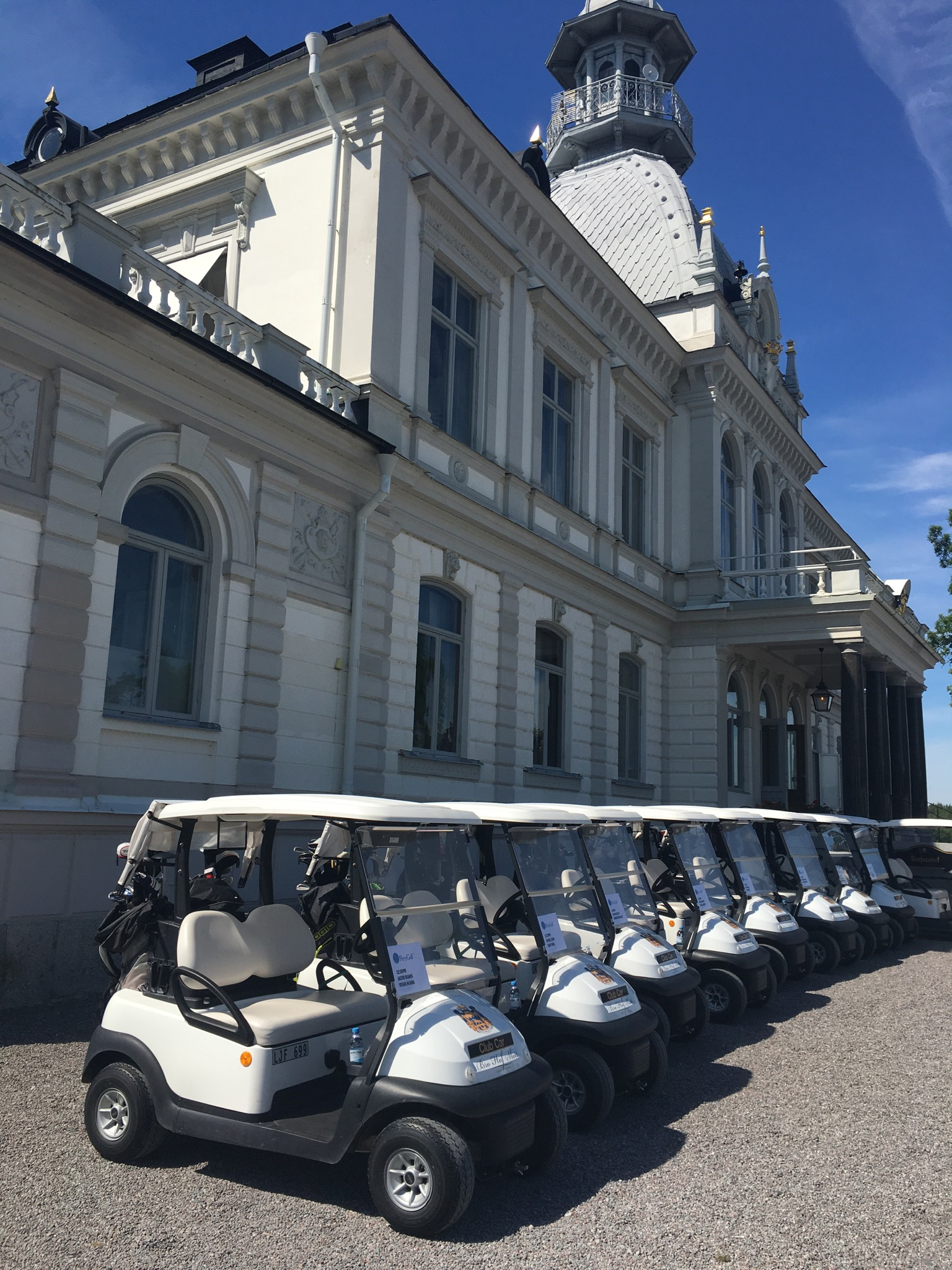 2016 Baltic Sea PerryGolf Cruise - Bro Hof Slott Golf Club - PerryGolf.com