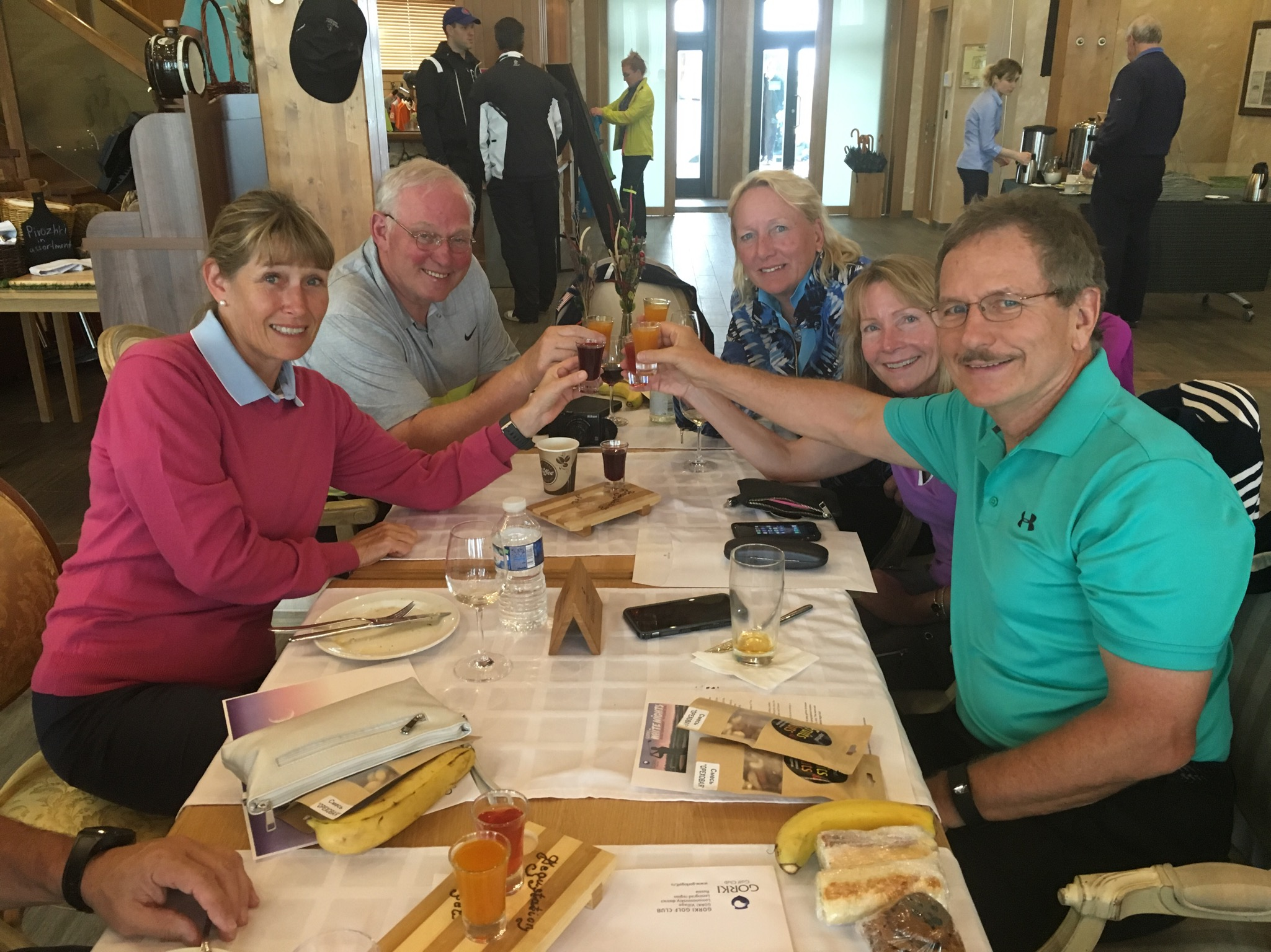 2016 Baltic Sea PerryGolf Cruise - Gorki Golf Club - PerryGolf.com