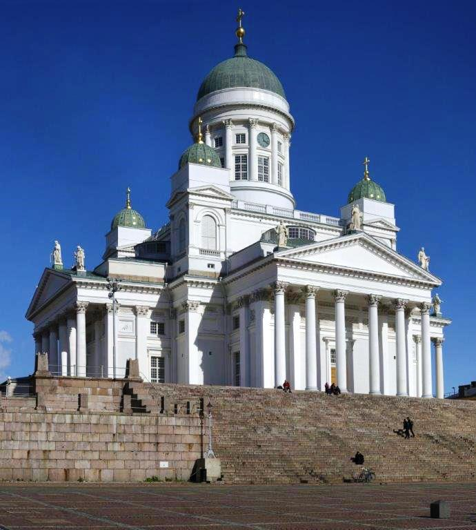 2016 Baltic Sea PerryGolf Cruise - Lutheran Cathedral in Helsinki, Finland - PerryGolf.com