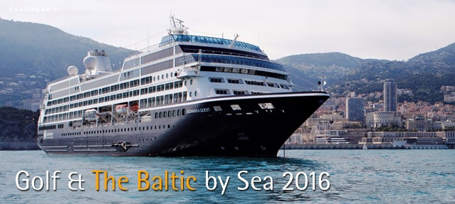 2016 Baltic Sea PerryGolf Cruise