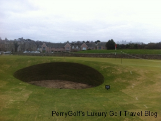 Hole #17, Old Course, St. Andrews - Close-up