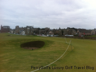Hole #17, Old Course, St. Andrews - Front of green