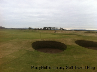 Hole #2, Old Course, St. Andrews - Close-up