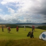 Castle Stuart #9. A great golf course with stunning views of the Moray Firth and the majestic mountains which surround.
