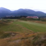Royal County Down Golf Club Hole #9 — in Northern Ireland.