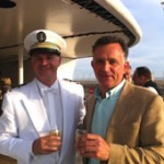 The Captain and PerryGolf Co-Founding Director Colin Dalgleish