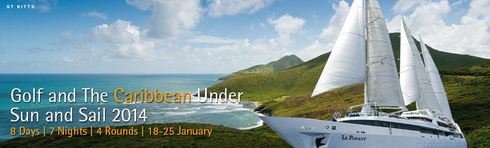 Golf and the Caribbean Under Sun and Sail 2014