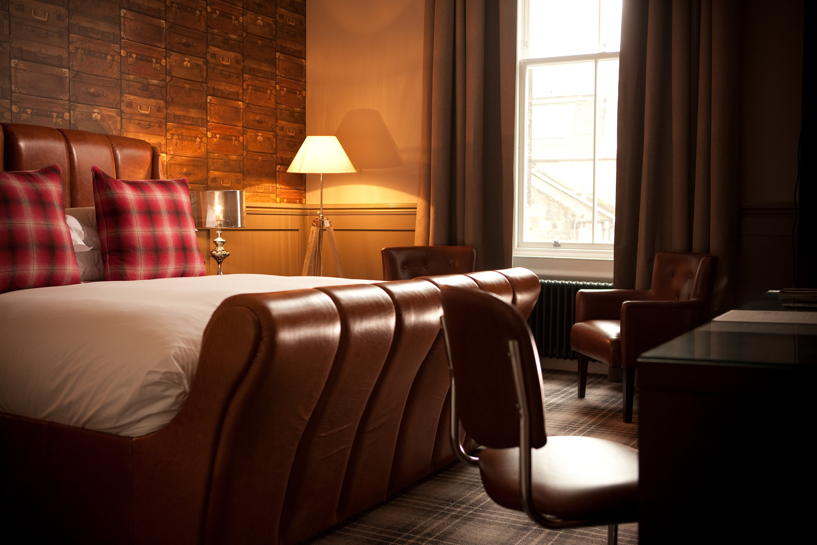 Standard Guest Room - luxury guest rooms at Hotel du Vin St Andrews