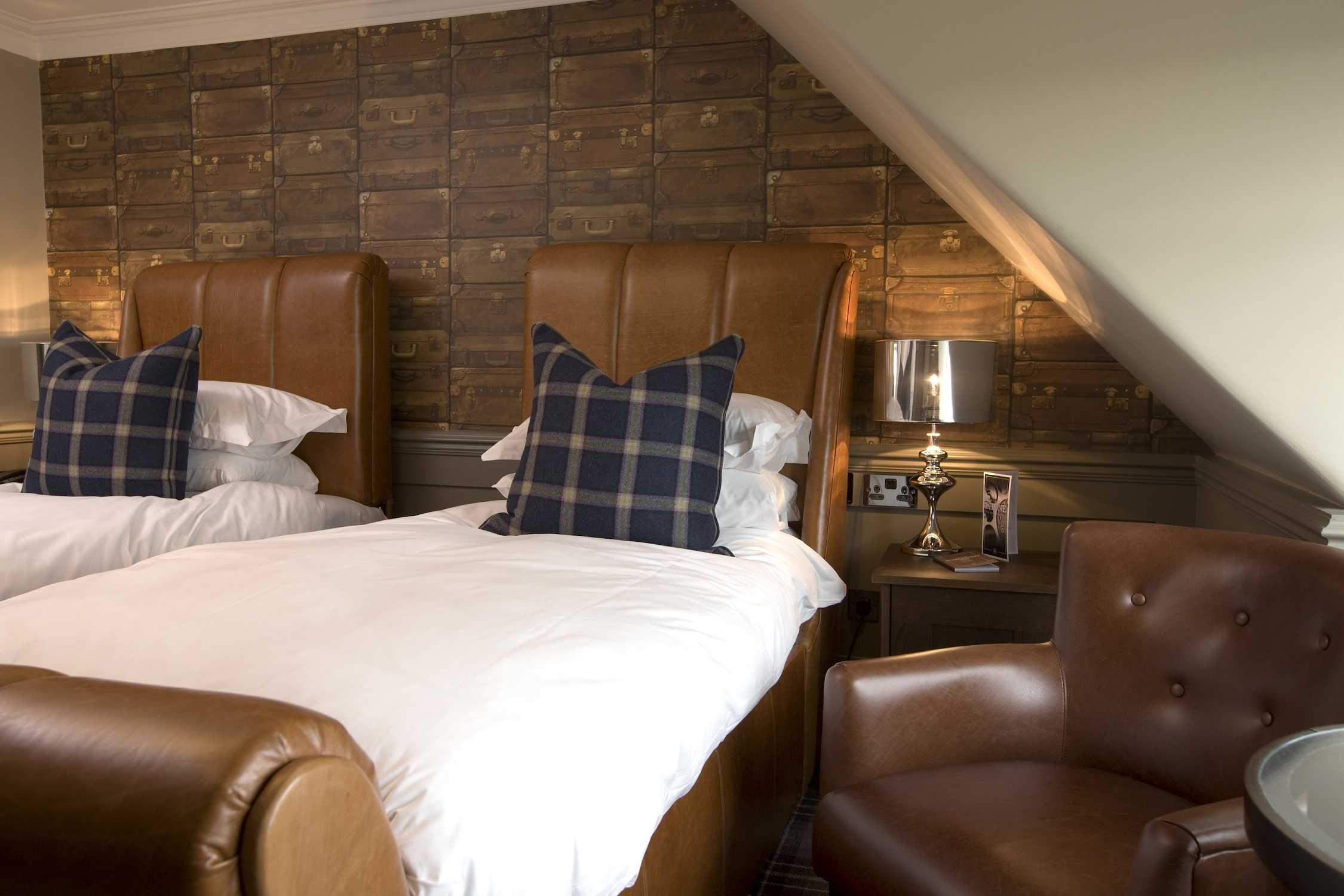 Twin Standard room at Hotel du Vin St Andrews