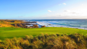 Cape Wickham - 12th Hole behind green, Par 4 | Image via Cape Wickham Links