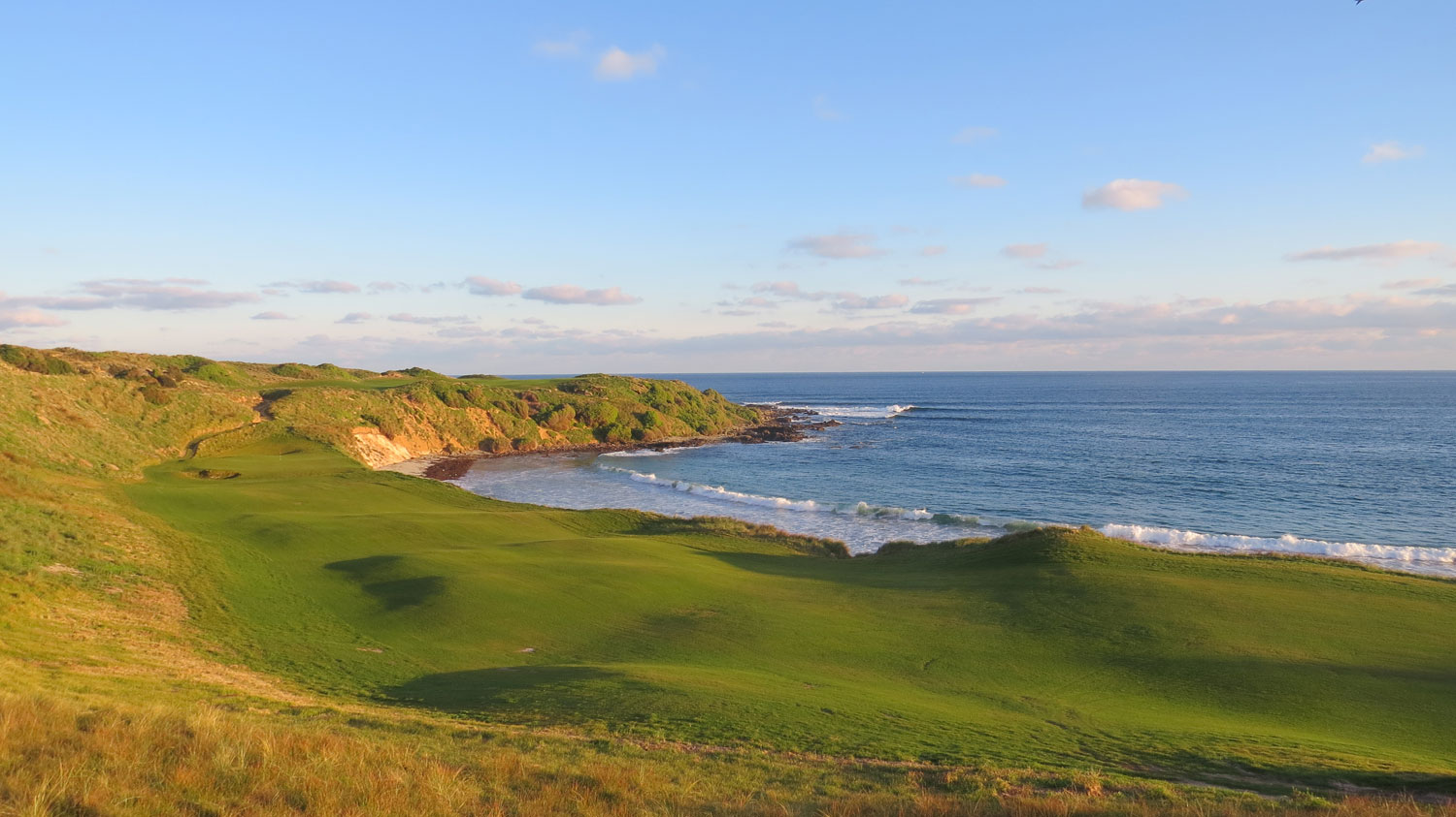 Cape Wickham - 18th Hole, Par 4 | Image via Cape Wickham Links