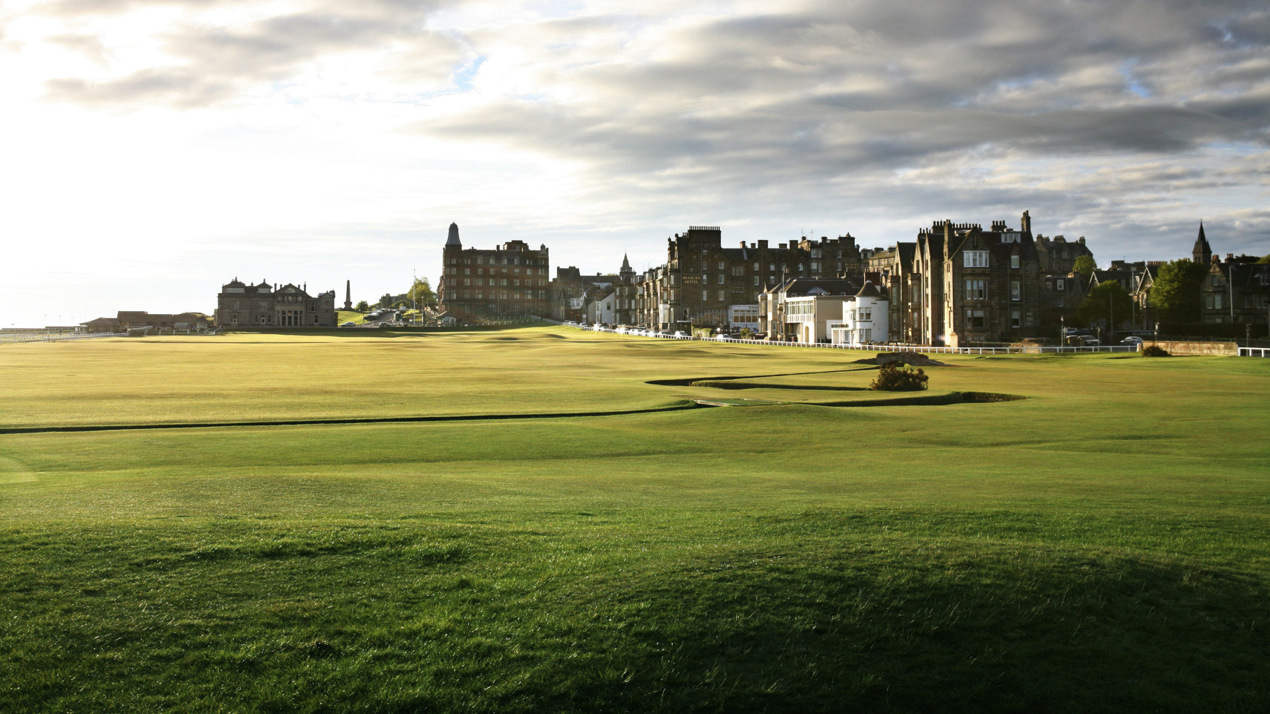 Old Course at St Andrews, Scotland - The Home of Golf - www.PerryGolf.com
