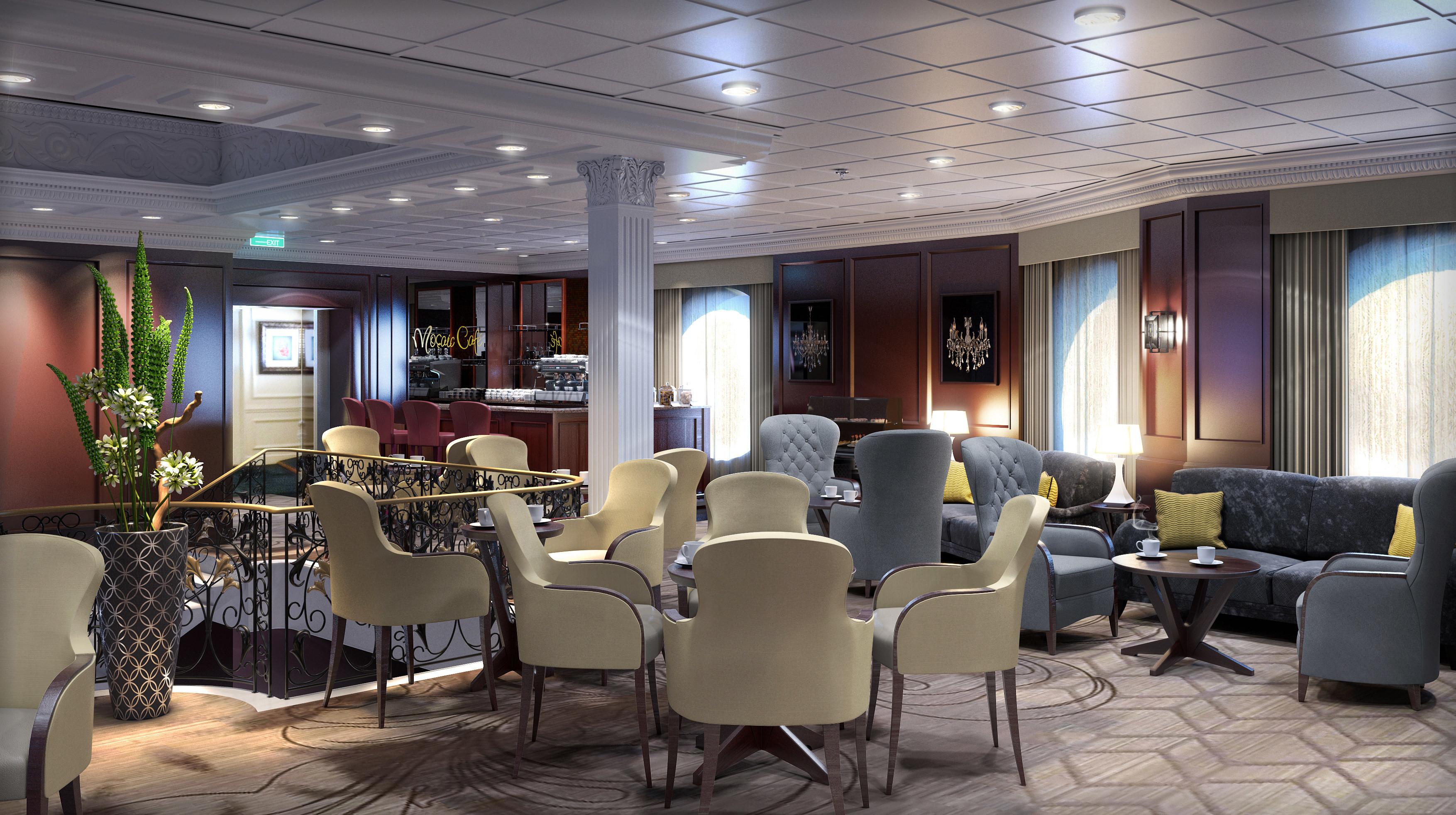 Mosaic Cafe - Azamara - PerryGolf Cruising