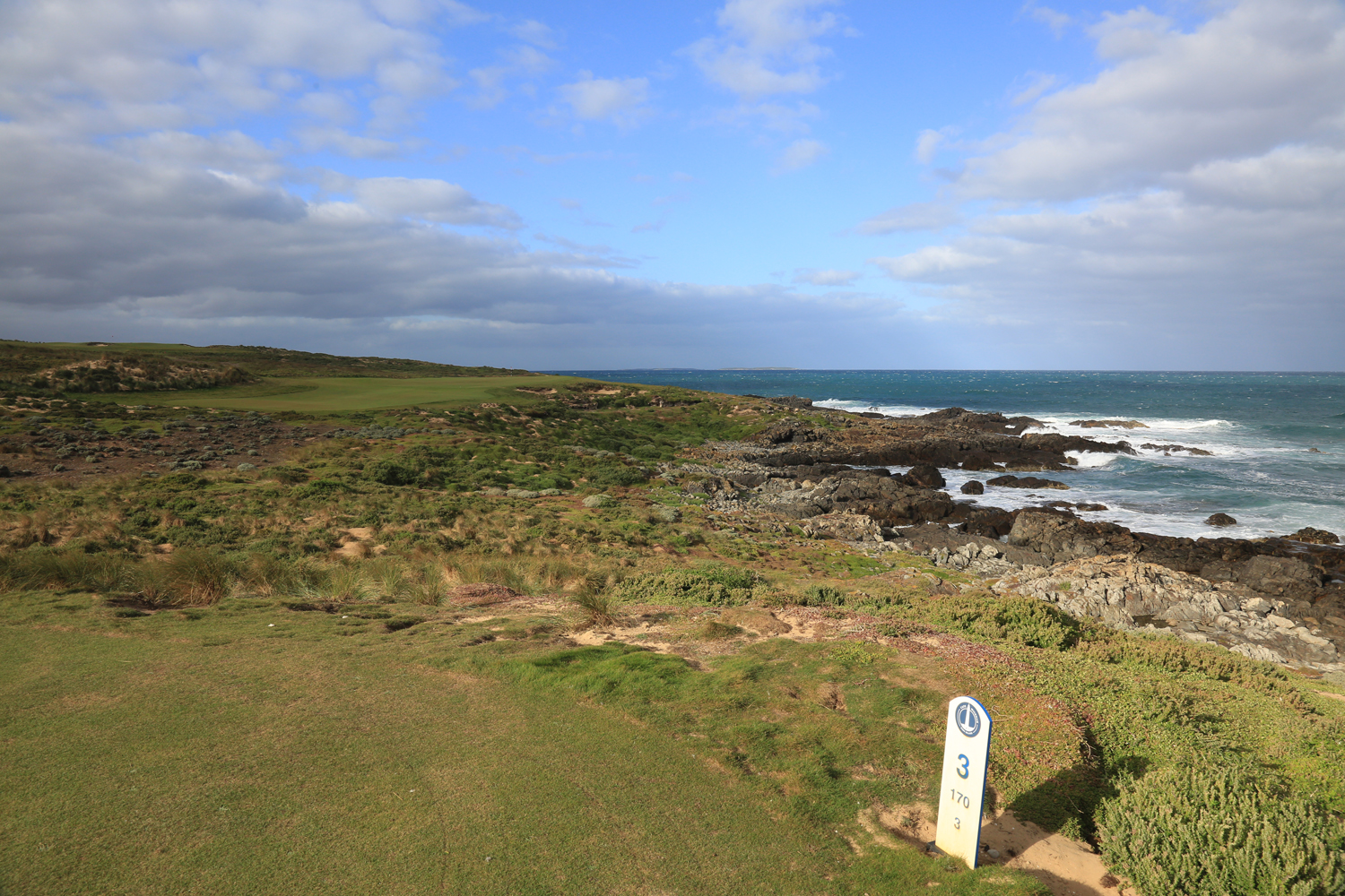 Cape Wickham Links - Hole 3 - King Island - PerryGolf.com