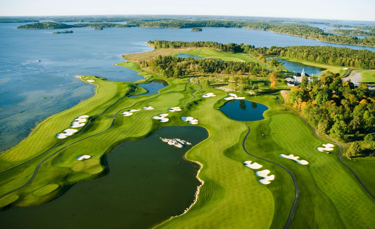 Visit Stockholm, Sweden on our 2017 Baltic Golf Cruise and play Bro Hof Slott Golf Club!