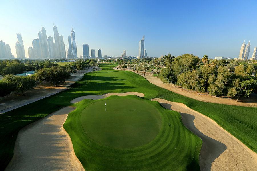 Emirates Golf Club, Majilis Course