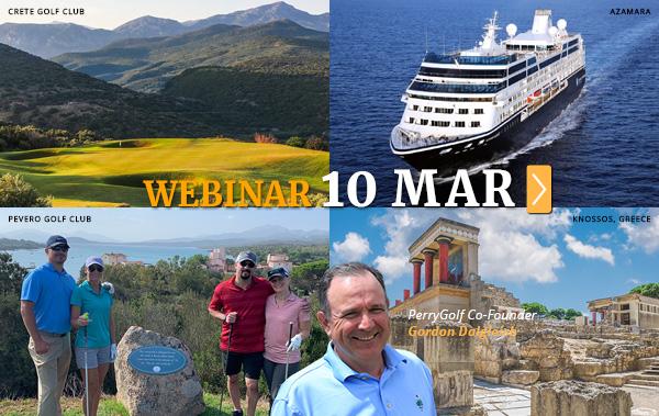 Mediterranean Golf Tours & Cruises 2020/2021