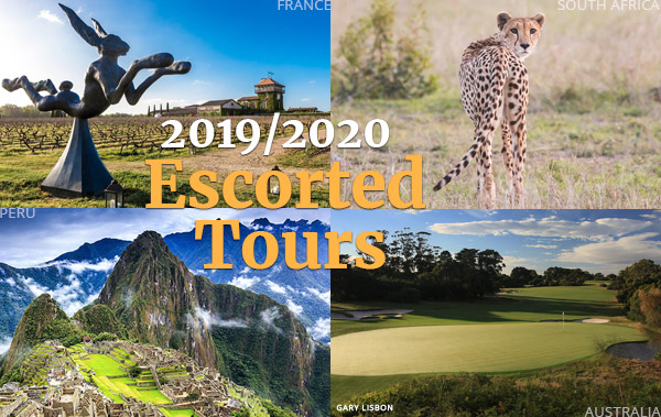 2019 / 2020 Escorted Tours with PerryGolf