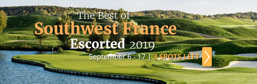 2019 France Escorted Golf Vacation