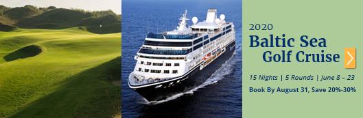 W2020 Baltic Sea Golf Cruise Vacation - PerryGolf.com - PerryGolf.com