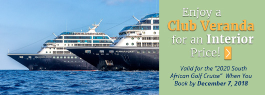 Golf Cruising Special Offers with PerryGolf/Azamara Cruises