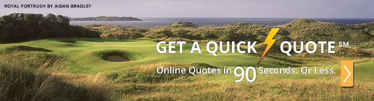 Get a golf vacation quote in 90 seconds or less