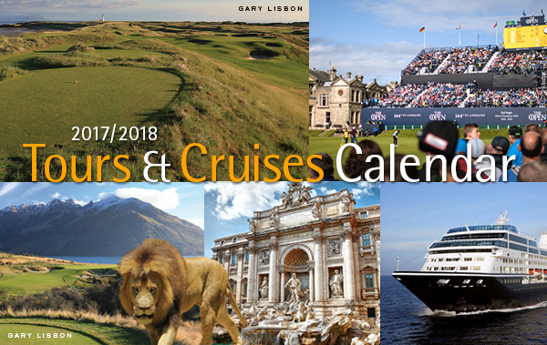 PerryGolf 2017/2018 Tours and Cruises