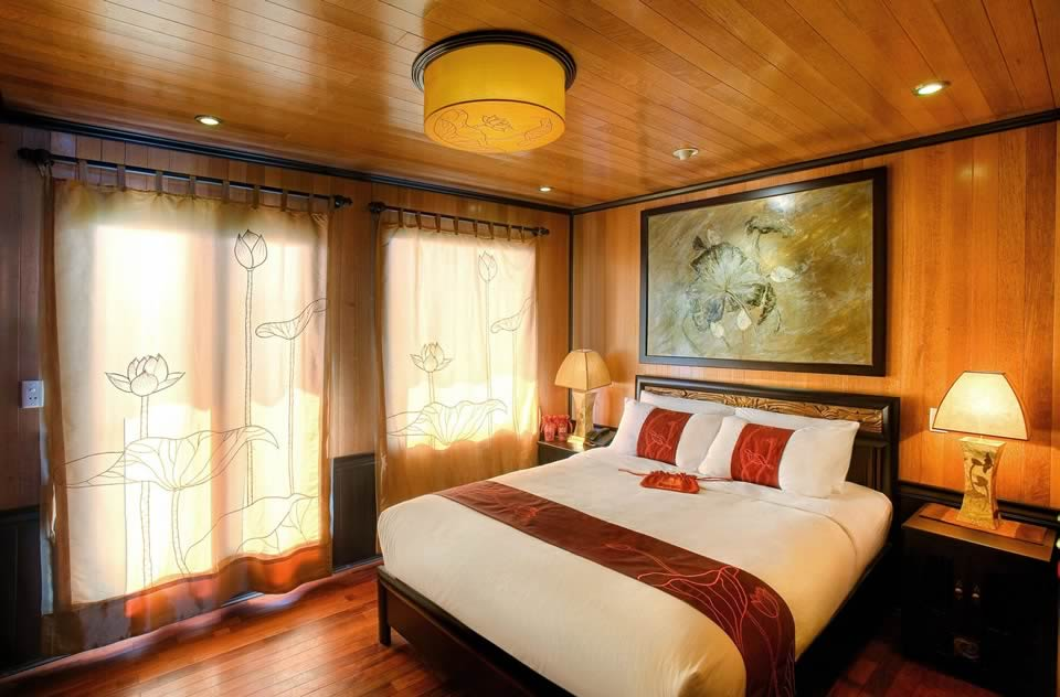 Indochine Sails Stateroom