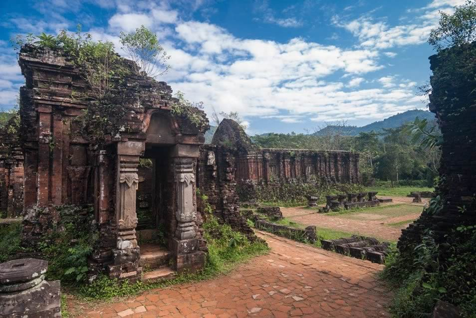 Remains of Hindu Temples at My Son Sanctuary