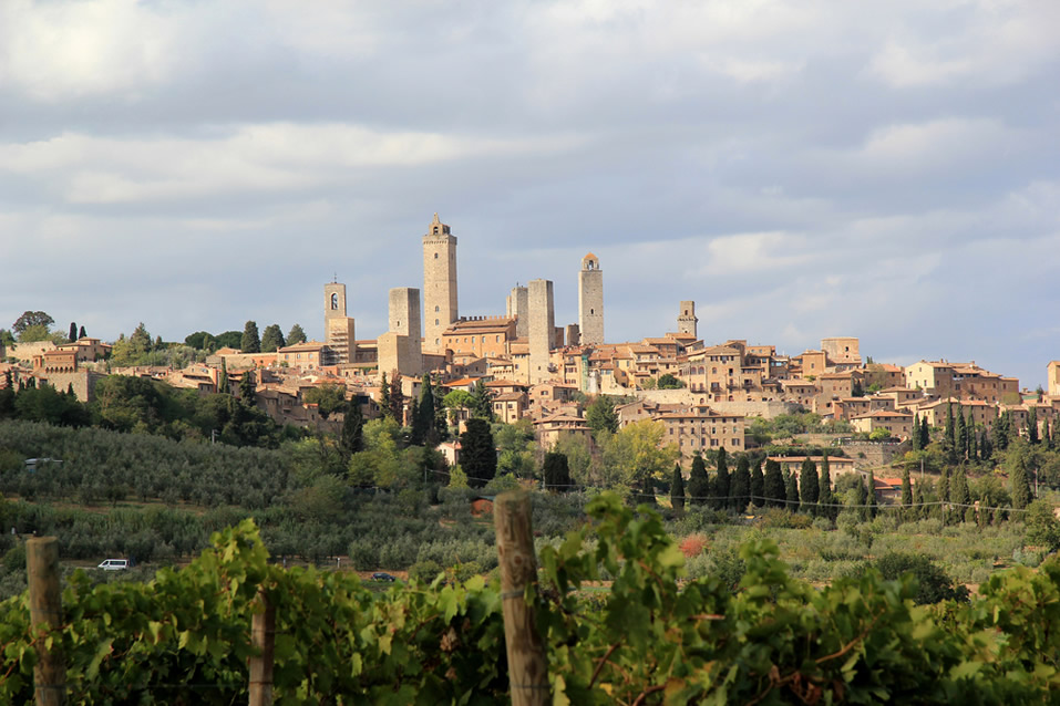 San Gimignano, the Town of Fine Towers
