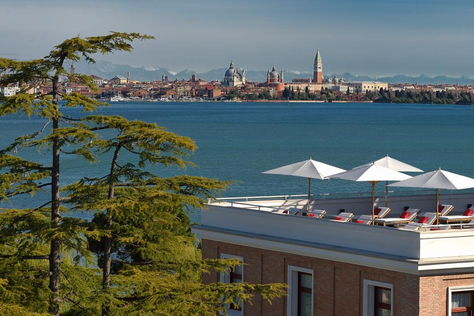 View of Venice from the Marriott Venice Resort & Spa