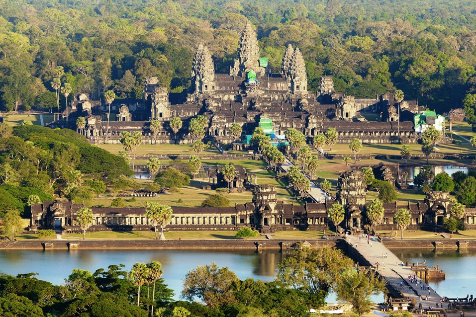 Temple of Angkor Wat Siem Reap