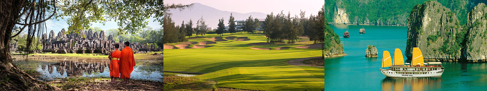 Golf, Temples & Tombs ~ Thailand, Cambodia & Vietnam