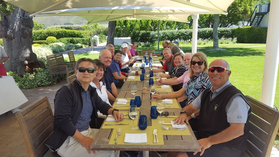 Group Lunch at Catharina's in Steenberg