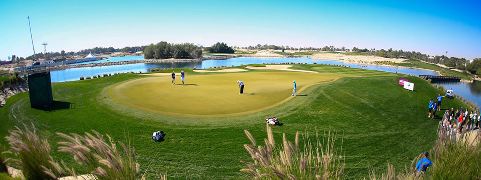 Doha Golf Club, home to the Commerical Bank Qatar Masters