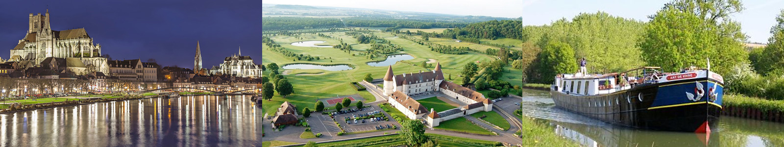 Burgundy France Golf Barge Cruise with PerryGolf Vacations