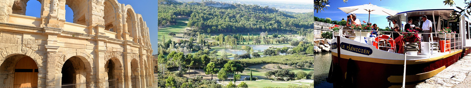 Provence France Golf Barge Cruise with PerryGolf Vacations