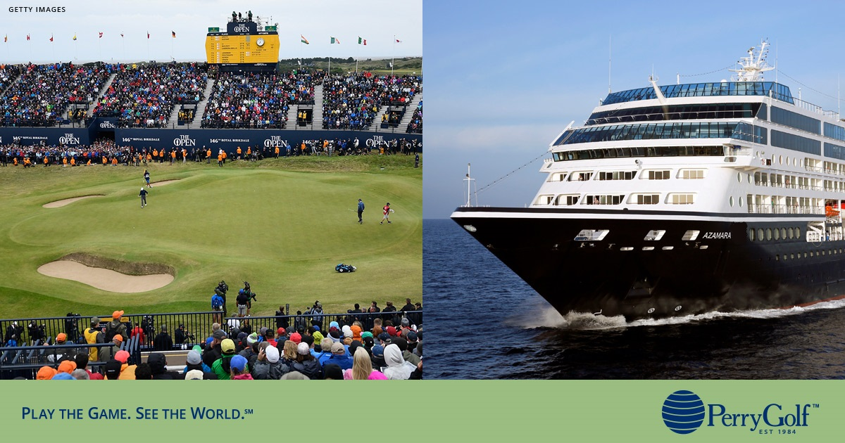 2020 British Isles Golf Cruise & The 149th Open at Royal St