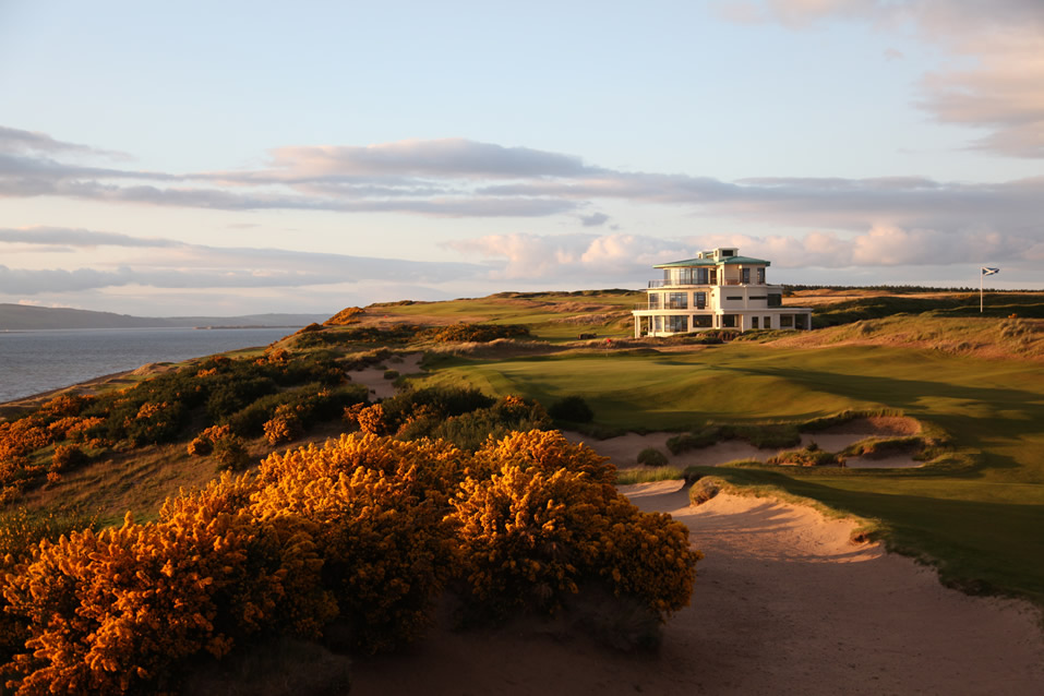 Castle Stuart Golf Links Clubhouse