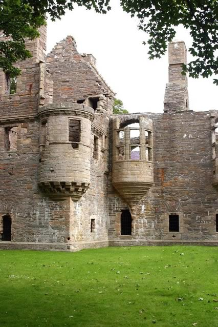 The Earl's Palace, Kirkwall, Orkney Islands, Scotland