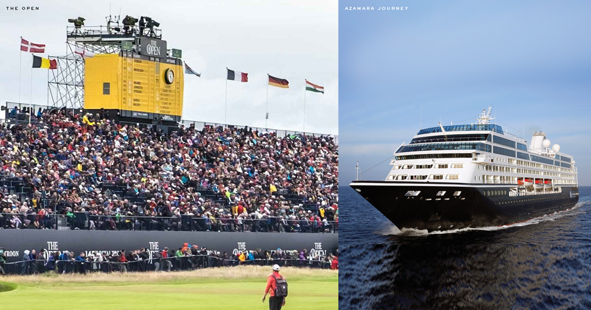 2019 British Isles Golf Cruise & The 148th Open at Royal Portrush