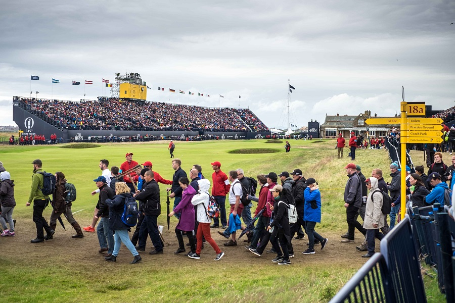 Professional Golf�s Oldest Major Championship, The Open