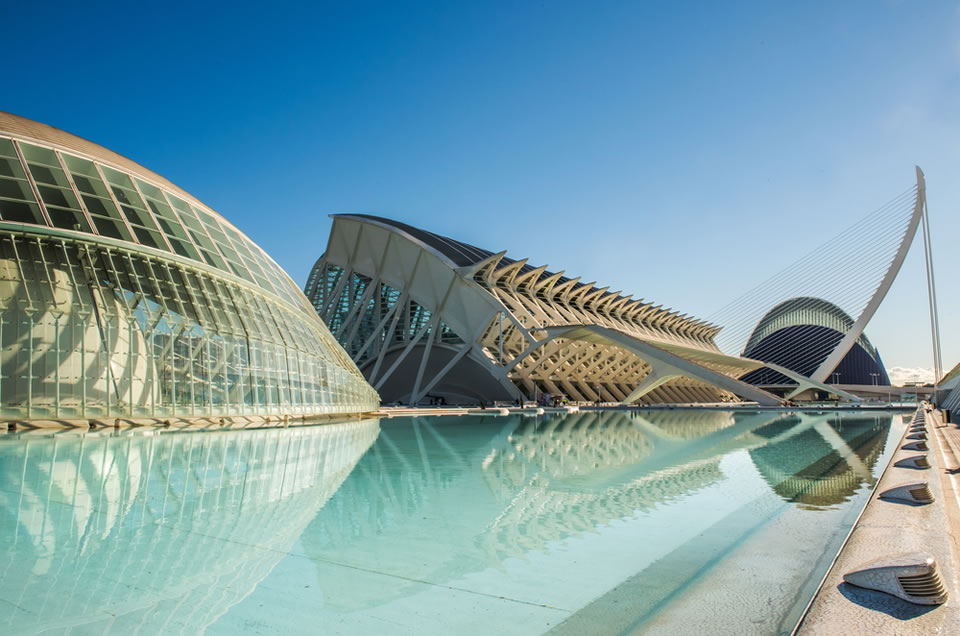 Arts and Sciences Center in Valencia