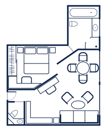 Owner's Suite Floorplan