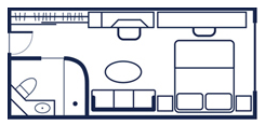 Yacht Club Deck 4 Floorplan