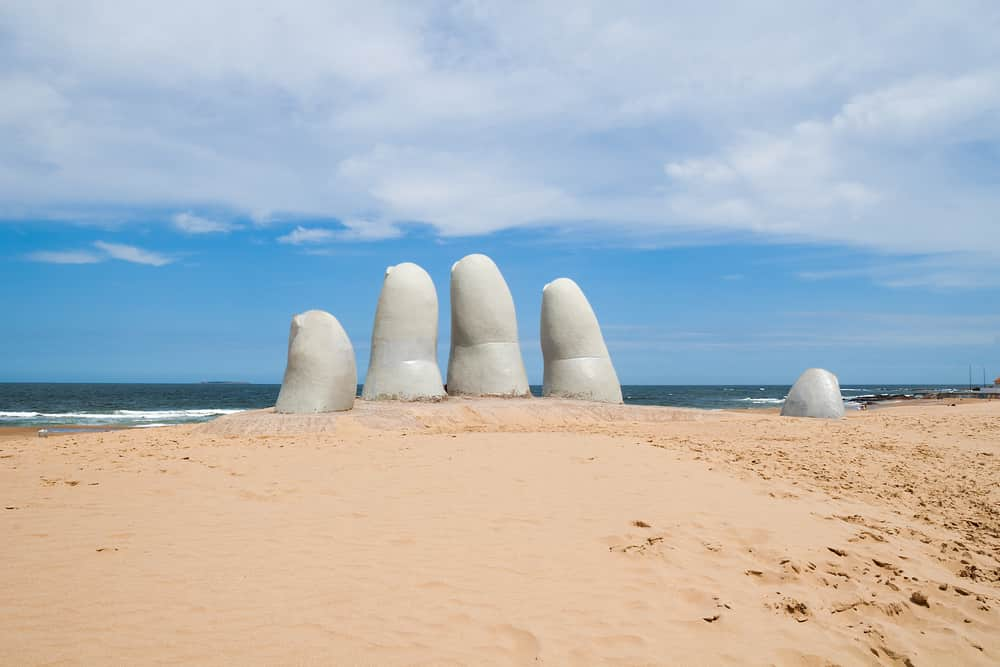 The Hand in Punta del Este